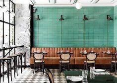 inspiring dining room at les trois cochons. / sfgirlbybay