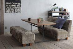 フラッグ2 ローダイニングテーブル FLAGⅡ LOW DINING TABLE(6955) - ノットアンティークスのテーブル | おしゃれ家具、インテリア通販のリグナ