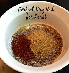 Dry Rub Recipe for Roast - Clover Meadows Beef - Dry Rub Recipe for Roast – Clover Meadows Beef - Smoked Beef Roast, Spiced Beef, Smoked Pork, Healthy Beef Recipes, Roast Beef Recipes, Smoker Recipes, Spinach Recipes, Keto Recipes, Bbq Dry Rub
