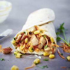 Wrap mit Pute und Currycreme Rezepte | Weight Watchers