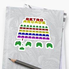 Space Invaders Retro Arcade • Millions of unique designs by independent artists. Find your thing.