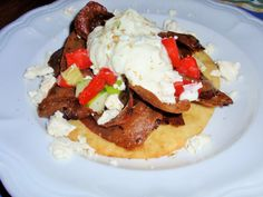 Gyros with Tzatziki Recipe: The Happy Little Hive