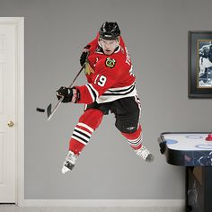 Chicago Blackhawks Power Pack Fathead Wall Graphic | Chicago Blackhawks  Wall Decal | Sports Home Decor | Hockey Bedroom/Man Cave/Nursery |  Pinterest ...