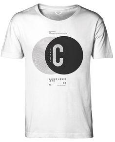 JACK & JONES Herren T-Shirt jjcoPIECE Shirt Kurzarm Hemd Rundhals Slim Fit…