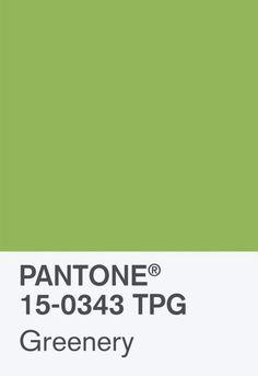 Greenery la couleur Pantone 2017 est là