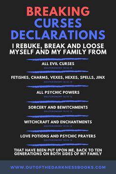 Prayer Scriptures, Bible Prayers, Catholic Prayers, Prayer Quotes, Good Prayers, Prayers For Healing, Spiritual Warfare Prayers, Spiritual Quotes, Prayer To Break Curses