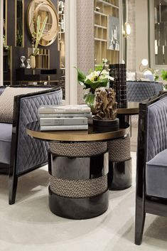 The Contemporary Italian Designer Round Side Table is part of an exquisite collection. Outstanding in its use of luxury materials and attention to detail, a harmony of forms. The epitomy of modern Italian furniture, superbly executed by master Italian craftsmen. For those that have a love of contemporary design and the understated simplicity in fine detailing...
