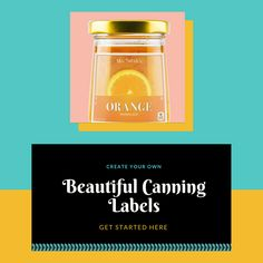 Get your cans jumping off the shelves with beautiful canning labels from SheetLabels.com