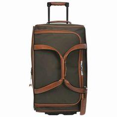 eb0153f320ec Longchamp Boxford Expandable plumber s bag with wheels Brown 1443080042   144 Buy Luggage