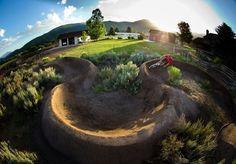 Beautiful Berms: Backyard Pump Track.