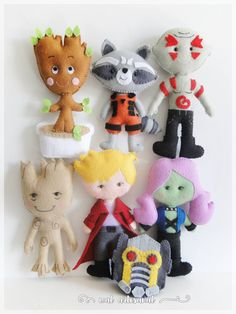 Guardians of the Galaxy Inspired - PDF Pattern - Adorable!