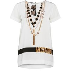 Moschino Silk Blouse Special Edition http://iloveloud.com/moschino/1189-seidenbluse-special-edition.html