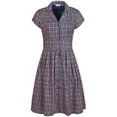 Buy Seasalt Lottie Dress, Tulips Marine Online at johnlewis.com