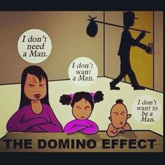 4 Reasons Feminism is a Threat to Black Consciousness Domino Effect, Babylon The Great, R Man, Thing 1, Black Families, My People, Black History, Wake Up, Feminism