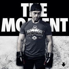 This is the moment you've been training for. Gloves on - lights on. Wear your The Moment t-shirt with pride! Heather Black, Fitness Motivation, Pride, Gloves, How To Make, How To Wear, In This Moment, Gym, Feelings
