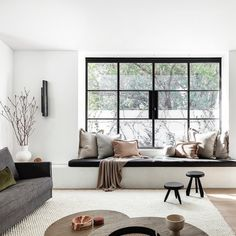 Crittall, Built In Furniture, Construction, Room Interior Design, Apartment Living, Minimal Apartment, Windows And Doors, Interior Inspiration, Decorating Your Home