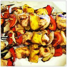 Pineapple Shish Kabob   YouAnew Lifestyle Nutrition