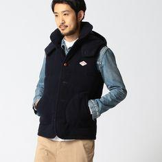 DANTON / 別注 フード ダウン ベスト | ビームス(BEAMS) | ファッション通販 マルイウェブチャネル[TO906-041-31-01]