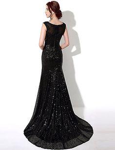 Homecoming Sheath/Column Bateau Floor-length Evening Dress – CAD $ 166.79