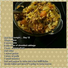 Dag 12 Low Carb Recipes, Real Food Recipes, Diet Recipes, 28 Dae Dieet, Dieet Plan, 28 Day Challenge, Low Carb Breakfast, Eating Plans, Clean Eating Recipes