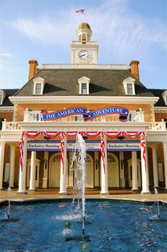 When planning Epcot's American Adventure Pavilion, Disney Imagineers faced a bit of a dilemma as to where the Pavilion should be located. Designers wanted to present our country as gracious hosts. … …