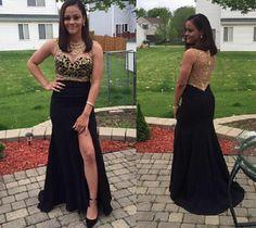 Prom Dresses,Sexy Prom Dress,Mermaid Evening Dress,Black Evening Gown,Formal