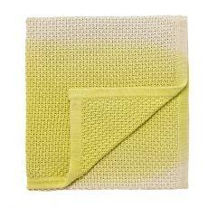 Clarissa Hulse - Knitted Throw – Sulphur Ombré