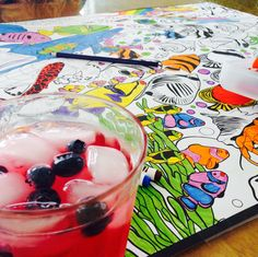 Refreshing summer spritzer perfect for topsail coloring ;)