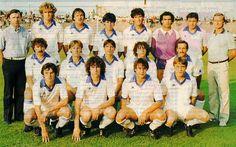La Berrichonne de Châteauroux 1984-85 De gauche à droite, en haut : Legros (secrétaire), Verrier, Auger, Godinet, Bougras, Mattielo, Desrutins, Nieroba (entraîneur). Au milieu : Mérigot, Lestratt, Bernardeau, Vidal, Besset. Accroupis : Sinson, Larigauderie, Tricoche, Billaine.