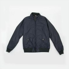 The Waxed G9 - this padded style provides a classic aesthetic with a British weather twist. #Baracuta