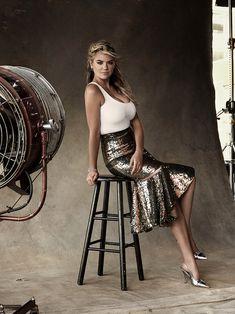 Harper's Bazaar Australia December 2015 – Kate Upton by Victor Demarchelier