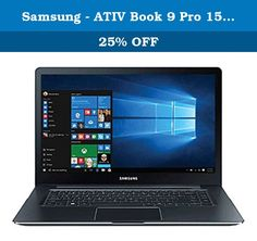 """Samsung - ATIV Book 9 Pro 15.6"""" 4K Ultra HD Touch-Screen Laptop - Intel Core i7-6700HQ - 8GB Memory - 256GB SSD - NVIDIA GTX 950M -Pure Black. Product Features ---- --Windows 10 operating system-- --15.6"""" 4K UHD touch screen-- Touch, tap, glide and make the most of Windows 10. The 4K UHD (3840 x 2160) resolution delivers a realistic picture. 350-600 cd/m² brightness. 16:9 aspect ratio. LED backlight. --6th Gen Intel Core i7-6700HQ processor-- --8GB system memory for advanced…"""