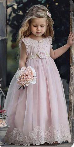 Wedding Flower Girl Dresses, Little Girl Dresses, Girls Dresses, Flower Girls, Ball Dresses, Cute Dresses, Beautiful Dresses, Toddler Dress, Baby Dress