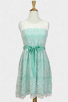 Tea & Cake Lace Dress