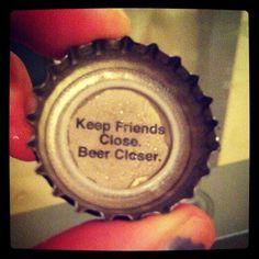 Beer Cap Wisdom #Beer #BeerPorn #cap #wisdom