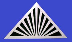 Rising Sun Gable Vent found at onyxxteriors.com
