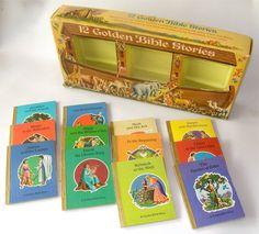 Rare Vintage Little Golden Book Bible Stories by SmallFavorites