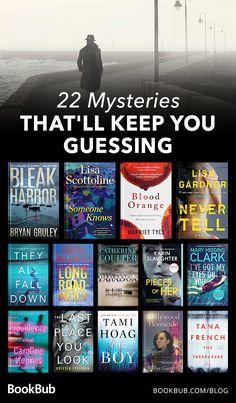 These 22 mystery books will keep you guessing long into the night! Book Nerd, Book Club Books, Book Lists, My Books, Reading Books, Books You Should Read, Best Books To Read, Book Suggestions, Book Recommendations