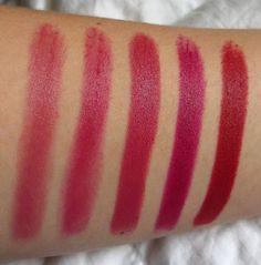 Top 5 MAC Lipsticks -- Fall Edition!