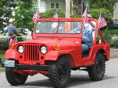 Memorial Day - Jeep CJ-5 Brush Truck