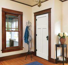 18 Best White Trim Dark Doors Images Diy Ideas For Home