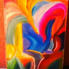 """""""Splash"""" original abstract oil on canvas #art #abstract #oil #paintings"""