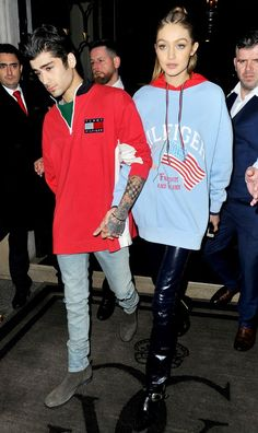 Gigi Hadid & Zayn Malik Couple Up For 'Tommy Hilfiger' Dinner: Photo Gigi Hadid and Zayn Malik look so in love in Paris! The adorable duo were spotted heading to a Tommy Hilfiger dinner at Laperouse restaurant on Tuesday night…