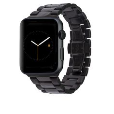 matte and shiny black watchband by Case-Mate, $60, for use with the Apple Watch in Space Black, $549.