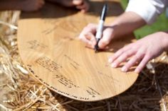 Surf Board Guest Book (or snowboard)