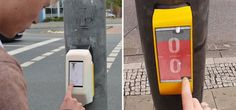Après que son idée ingénieuse devienne virale en 2012, une équipe d'étudiants créatifs a finalement réalisé son concept: transformer un bouton de passage piétons en un célèbre jeu électronique, Pong. Aujourd'hui, les piétons à Hildesheim, en Allemagne, peuvent utiliser le temps d'attente du feu vert pour jouer à pong contre un piéton situé de l'autre côté de la route !