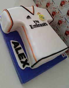 Torta camiseta Real Madrid