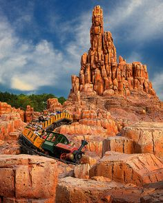 Big Thunder Mountain Railroad by Matt Pasant, via Flickr