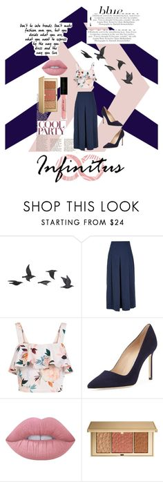 """""""Fashion is yours! Go in any direction you want!"""" by nigelrjgreen ❤ liked on Polyvore featuring Jayson Home, TIBI, New Look, Manolo Blahnik, Lime Crime and Estée Lauder"""