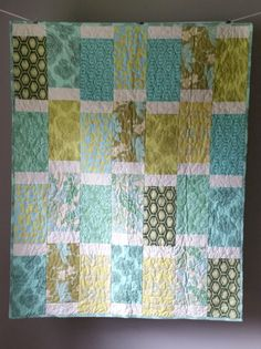 Gender neutral baby quilt. | Quilts | Pinterest | Quilt, Neutral ... : gender neutral quilts - Adamdwight.com